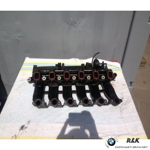 Впускной трубопровод с управл.заслонками, BMW X5 E53 M57N