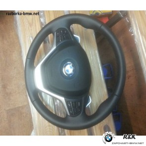 Cпорт.руль.колесо с НПБ и переключат.КПП BMW X3 seria F25/32306798536