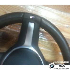 Спортивное рулевое колесо М кожа на BMW 3 seria F30/32307848338