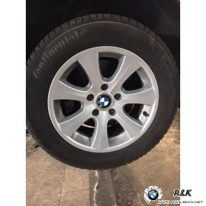 Колеса диски с зимней резиной R16 BMW E60