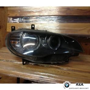 Фара передняя R BMW X6 E71 до рейстал