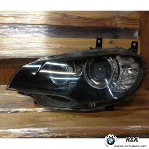 Фара передняя L BMW X6 E71 до рейстал