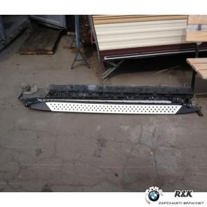 Пороги с усилителями BMW X5 E70 до рейстайл