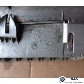 Декоративная решетка R, BMW X5 E53, до рейстал