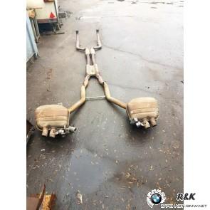 Выхлоп BMW F01 F02 750i 750ix 18307585343
