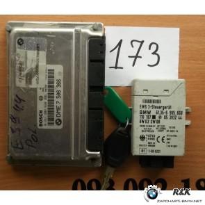 Блок управления мотора DMEКомплект  BMW 5 seria Е39 540 M62 TU 2000/09
