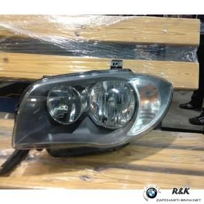Фара передняя L BMW 1 E81, E82, E87, E88
