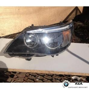 Фара передняя L HELLA BMW 5 E60