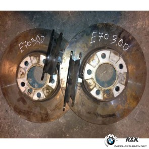 Передние Колодки + Диски BMW E70/71 F15